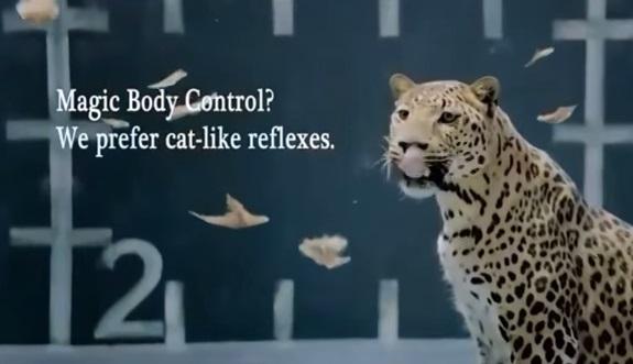 jaguar versus mercedes ad chicken or cat dailypedia. Black Bedroom Furniture Sets. Home Design Ideas