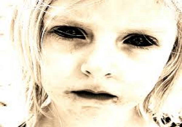 Ghost Children with All-Black Eyes Raise Terror in a UK Town