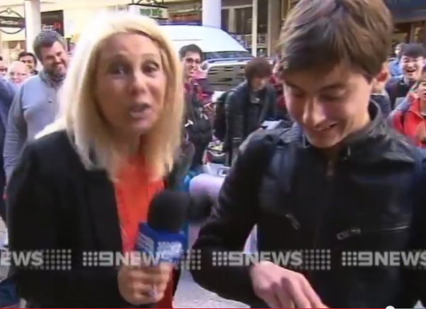 First iPhone 6 Buyer in Australia, Drops It in Live TV Interview