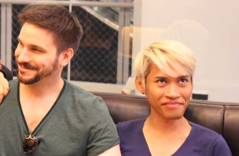 Asian And White Gay Couple