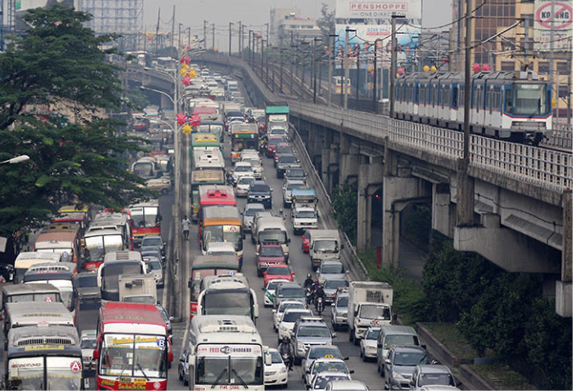 Metro manila traffic Archives | DailyPedia