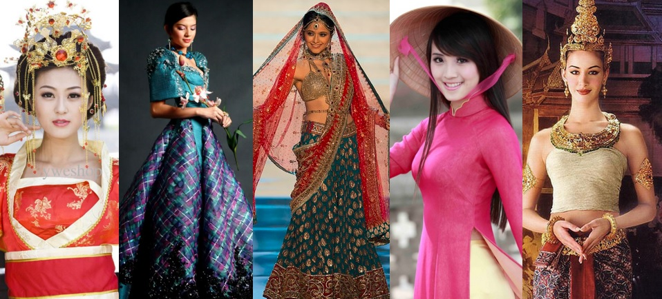 10 Wedding Traditions From Around The World One: 10 Most Beautiful Traditional Dresses From Around The
