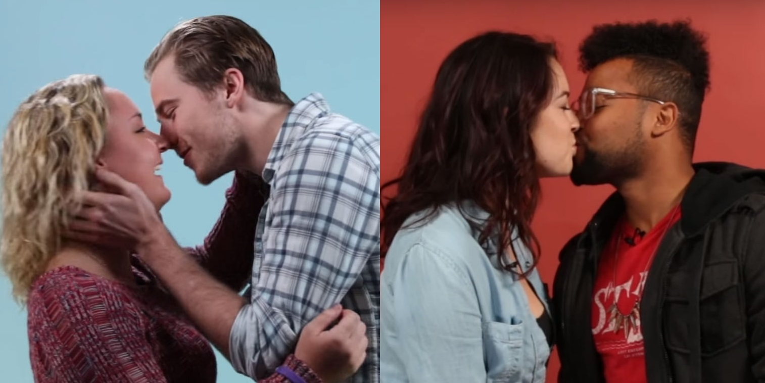 Watch Gay Men Kiss Women Lesbians Kiss Men For The First Time In A Social Experiment