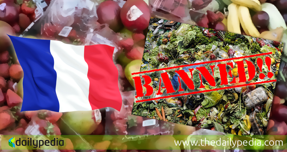 France New Law Food Waste