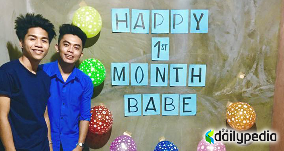 Monthsary gift archives dailypedia pinoy gay couple breaks social media with sweet monthsary celebration negle Image collections