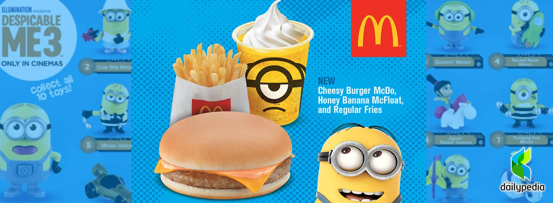 Despicable me archives dailypedia minions are back at mcdo with exciting toys when you buy a happy meal minionsatmcdo biocorpaavc Choice Image