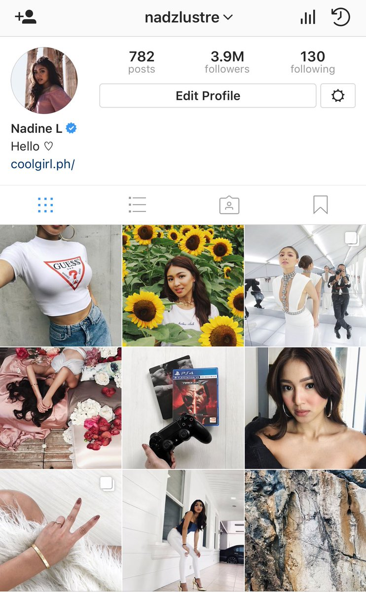 Nadine Lustre missing Instagram photos