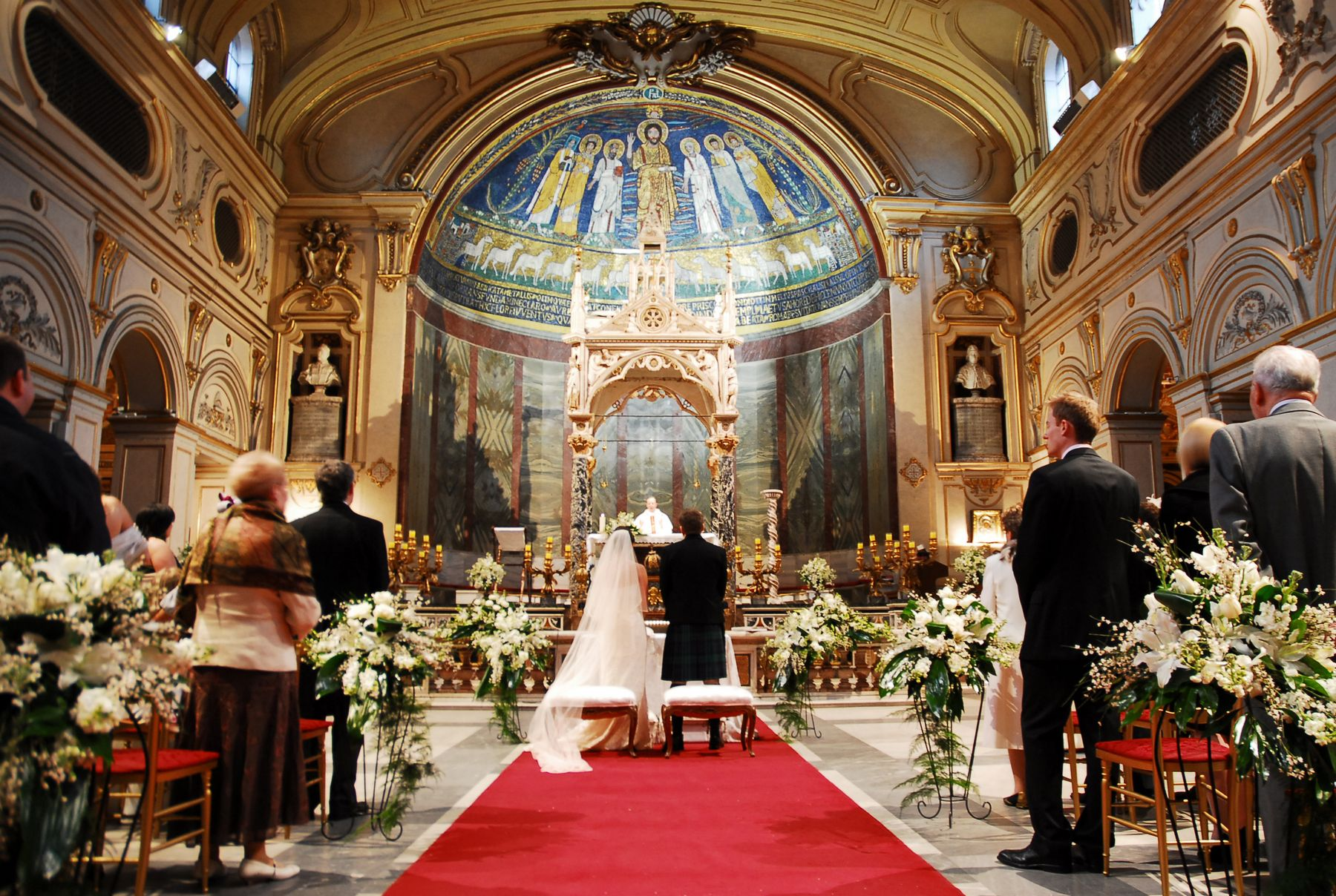 Catholic Churches Discourage Outdoor Weddings