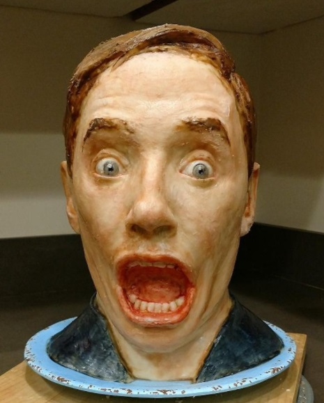 Artist creates creepy and realistic cakes
