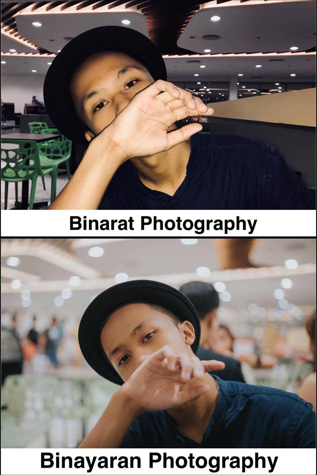 photographer compares photography on a budget and with a budget