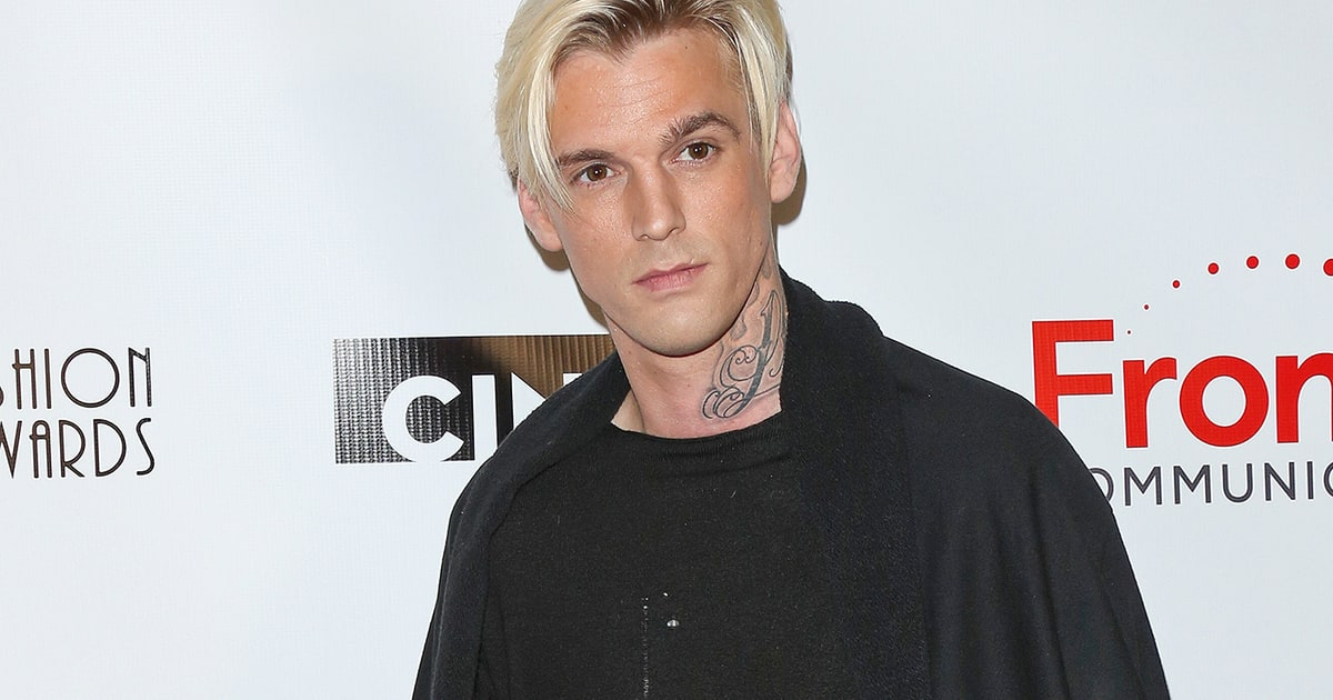 aaron carter comes out as bisexual