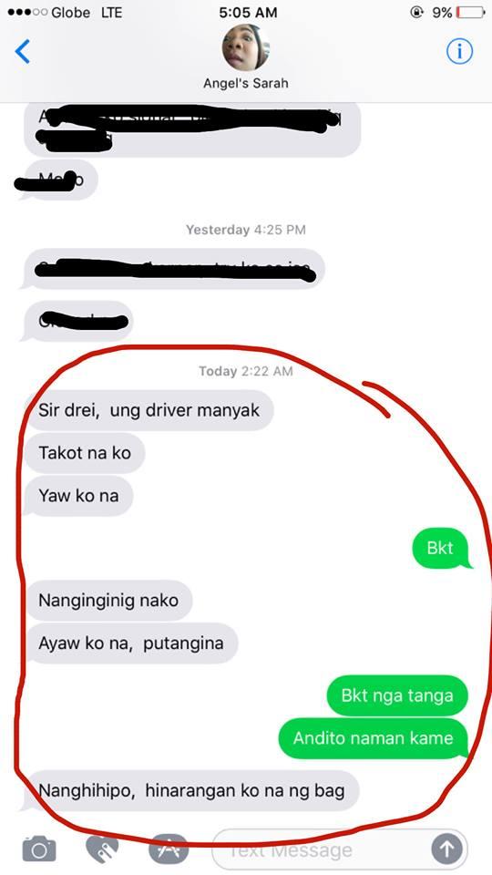 netizen raises awareness on taxi