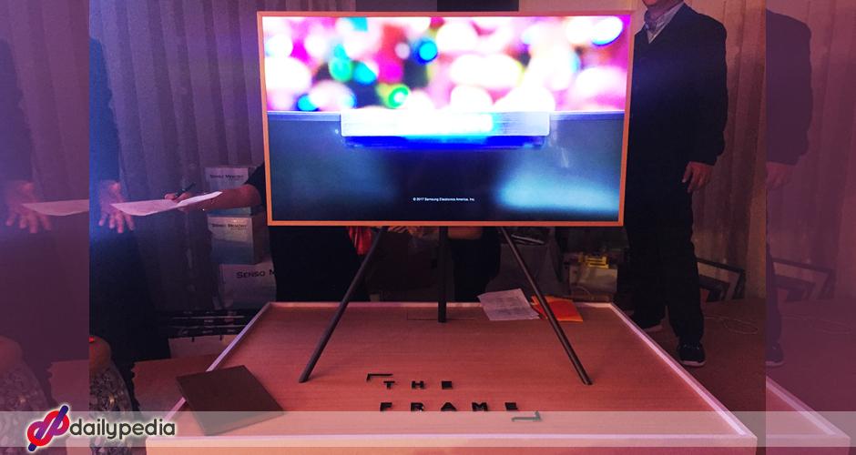 samsung unveils the frame tv latest state of the art. Black Bedroom Furniture Sets. Home Design Ideas