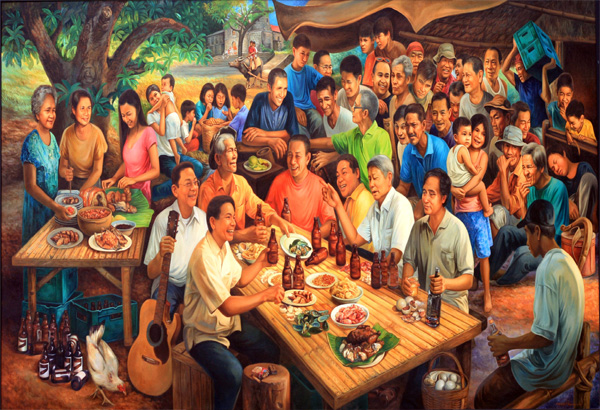 typical filipino family