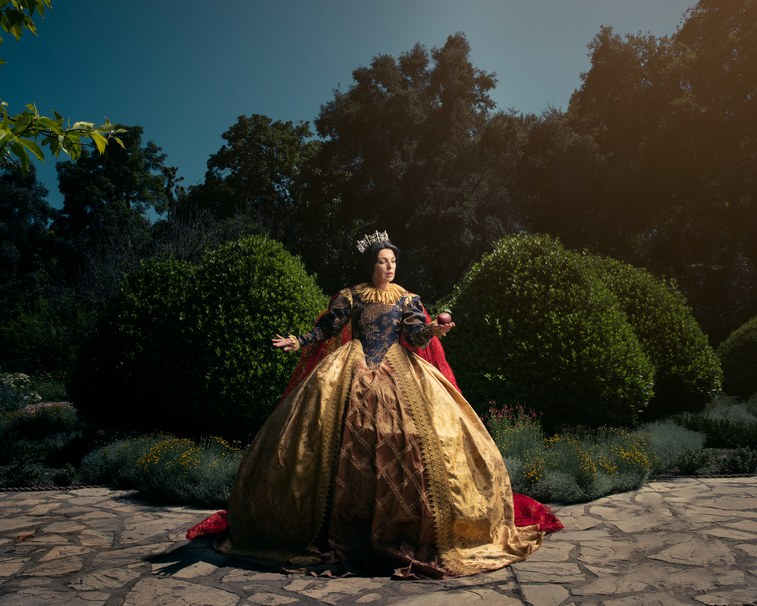 Designer and photographer re-imagines Disney Princesses as Queens