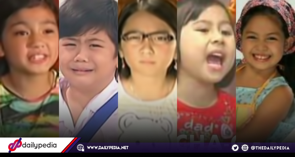 Goin Bulilit Kids Back Then And Now Dailypedia