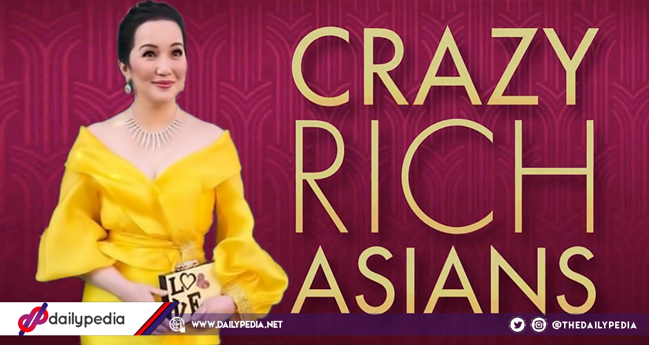Kris Aquino shines in her Michael Leyva gown at the \