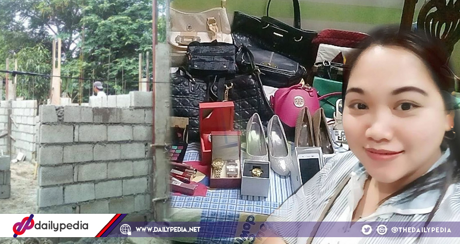 Pinay maid receives high-end gifts from